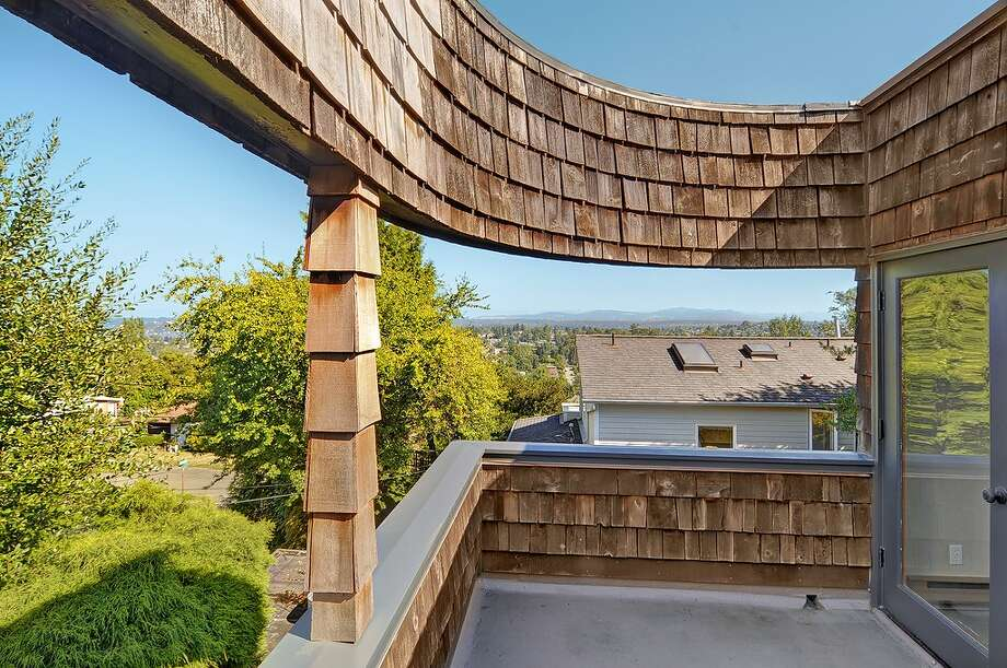 Deck of 2815 S Dawson St. It's listed for $434,000. Photo: Courtesy Matt Martel, Findwell