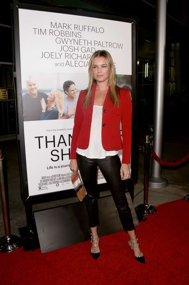 "Actress Rebecca Romijn attends the premiere of Roadside Attractions' ""Thanks For Sharing"" at ArcLight Cinemas on September 16, 2013 in Hollywood, California.  (Photo by Jason Merritt/Getty Images) Photo: Jason Merritt, Getty Images"