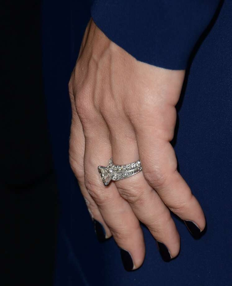 Pink attends the premiere of Roadside Attractions' 'Thanks For Sharing' at ArcLight Cinemas on September 16, 2013 in Hollywood, California. Wedding ring shot.  (Photo by Jason Merritt/Getty Images) Photo: Jason Merritt, Getty Images