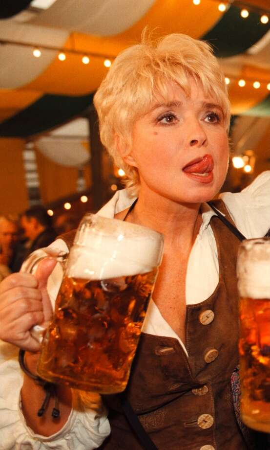An attendee enjoys Octoberfest. Photo: Peter Bischoff, Getty Images / 1998 Getty Images