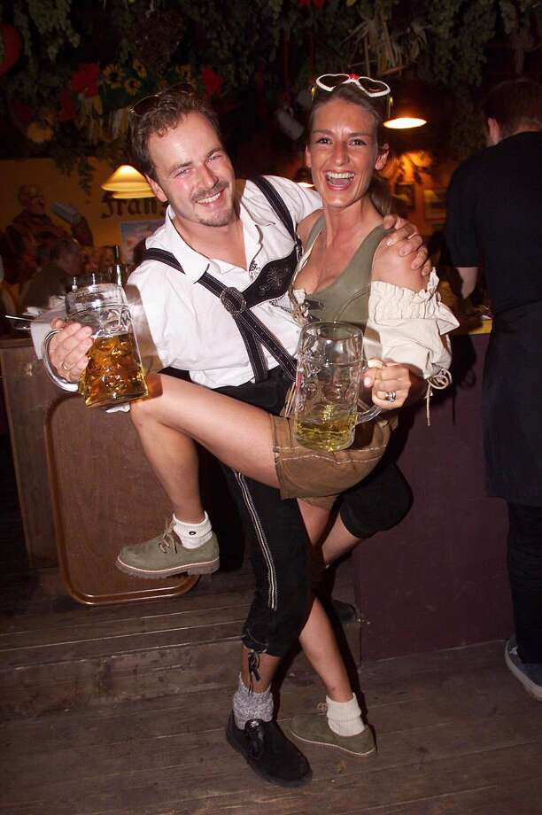 Revelers enjoy Oktoberfest. Photo: Franziska Krug, Getty Images / German Select