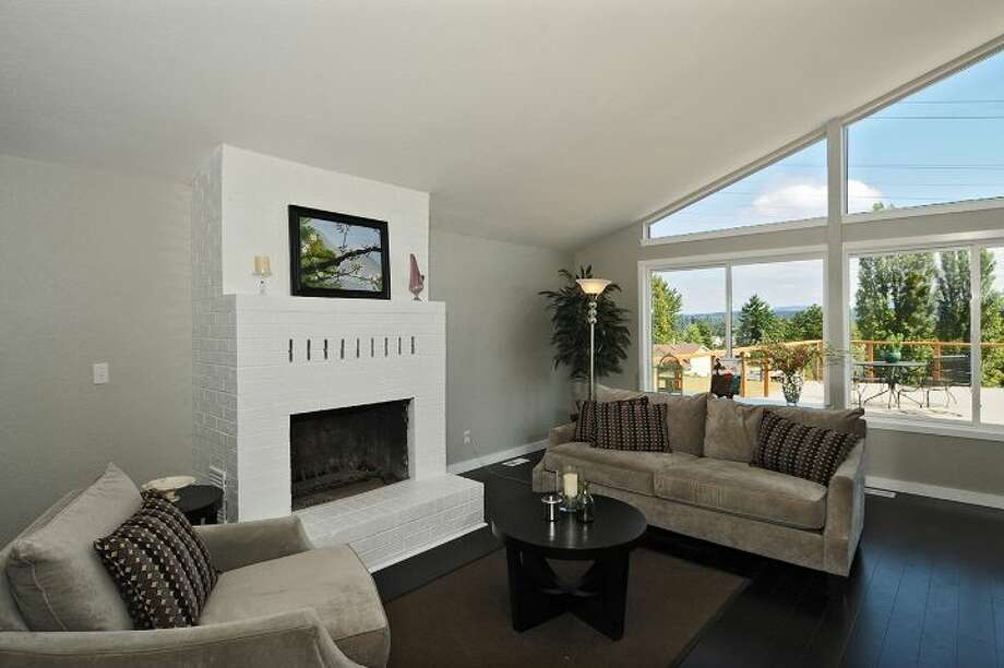 Living room of 7954 39th Ave. S. It's listed for $399,000. Photo: Courtesy Anne Marie Peterson, Windermere Real Estate