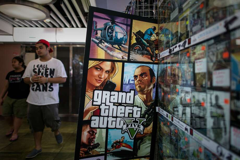 """Grand Theft Auto V"" was released in September. Photo: Philippe Lopez, AFP/Getty Images"