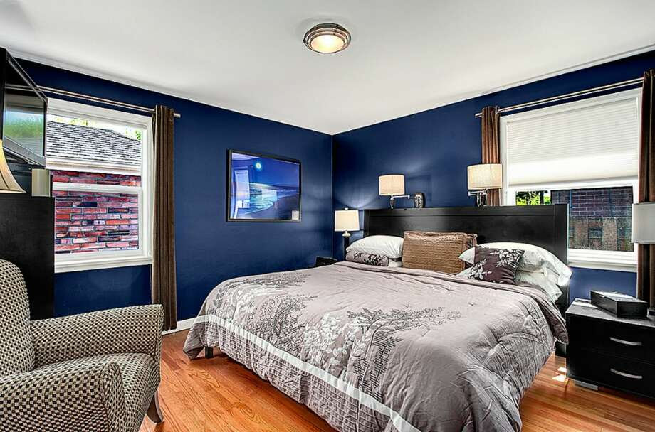 Bedroom of 2601 S. Ferdinand St. It's listed for $419,950, although a sale is pending. Photo: HD Estates, Courtesy Peggy Smith, Lake & Co. Real Estate