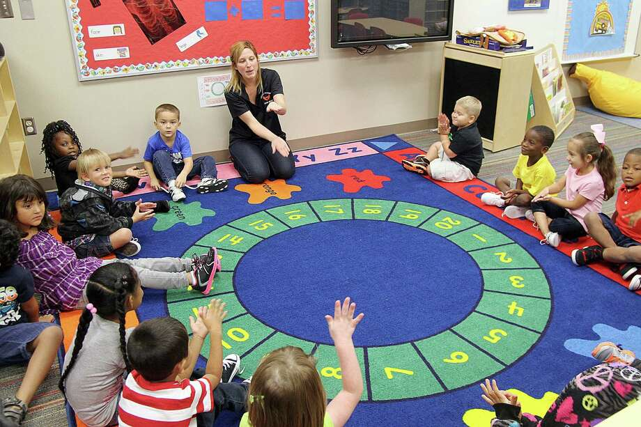 Sarah Langley's 4-year-olds at Calvin Vincent Head Start and Prekindergarten Center in Texas City may have reason to sing. Funding for the Head Start and early Head Start programs would jump by $1 billion. Photo: Pin Lim, Freelance / Copyright Pin Lim.
