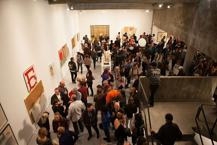 """""""Energy That Is All Around,"""" at the San Francisco Art Institute's Walter and McBean Galleries. Photo: Shane O'Neill"""