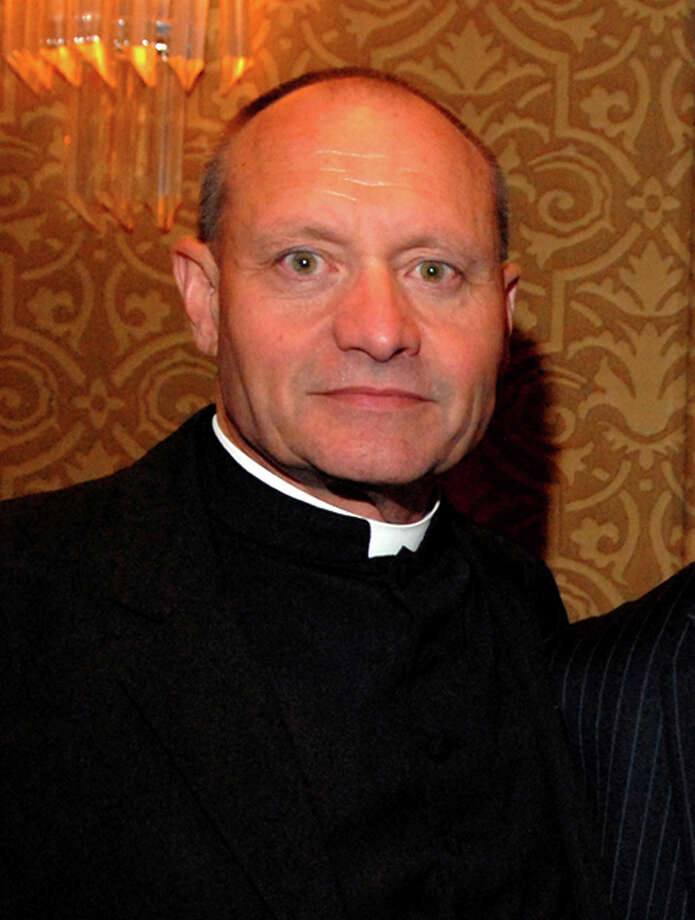 Former Monsignor Kevin Wallin of the Diocese of Bridgeport, 2010. Photo: File Photo / Connecticut Post File Photo