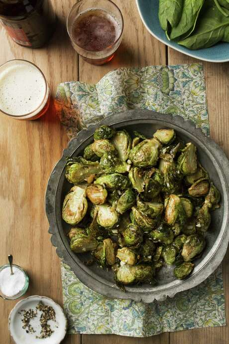 "Black Star Co-Op's (Austin) Fried Brussels Sprouts is among the dishes featured in ""The American Craft Beer Cookbook"" by John Holl. Photo: Storey Publishing"