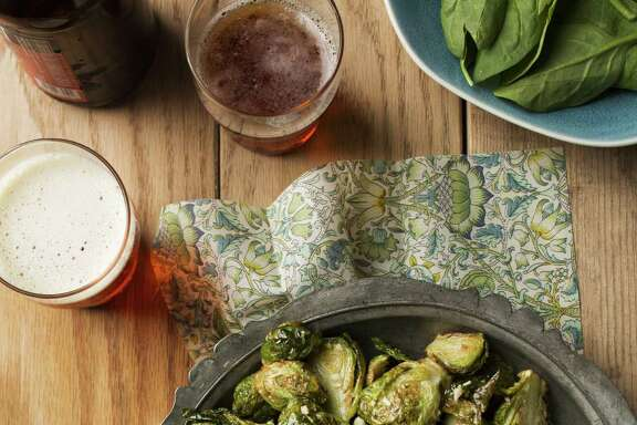 "Black Star Co-Op's (Austin) Fried Brussels Sprouts is among the dishes featured in ""The American Craft Beer Cookbook"" by John Holl."