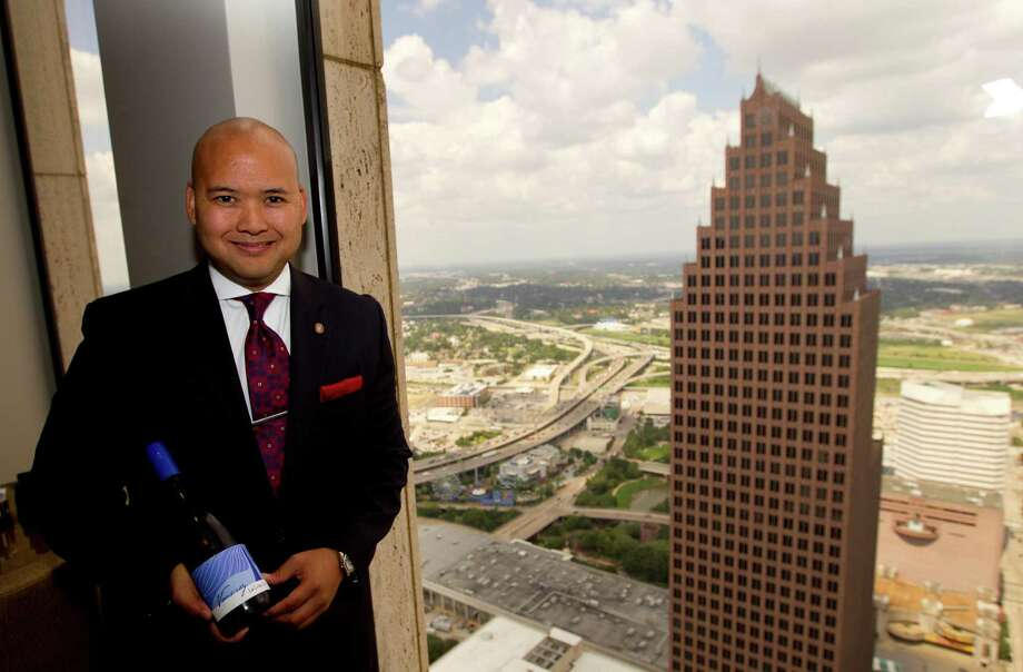 "Art Tongkao-on of the Houston Club calls the 2011 La Craie Vouvray a ""Loire Valley gem,"" crisp and refreshing for our still-hot days. Photo: Cody Duty, Staff / © 2013 Houston Chronicle"