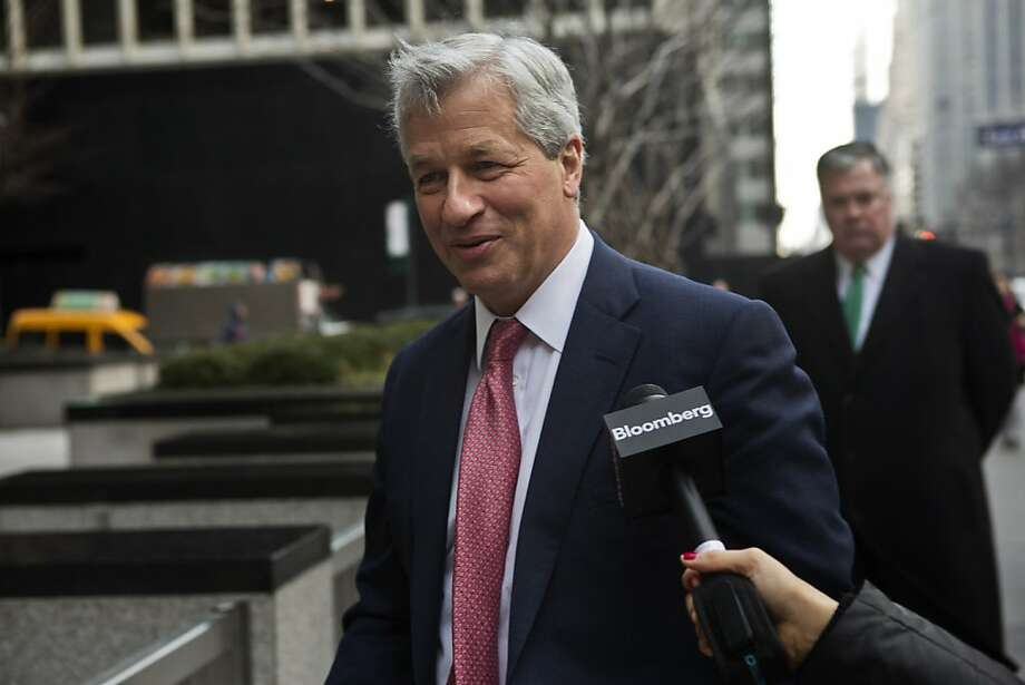 Jamie Dimon, CEO of JPMorgan Chase, tells workers more legal troubles over new rules are coming. Photo: Victor J. Blue, Bloomberg