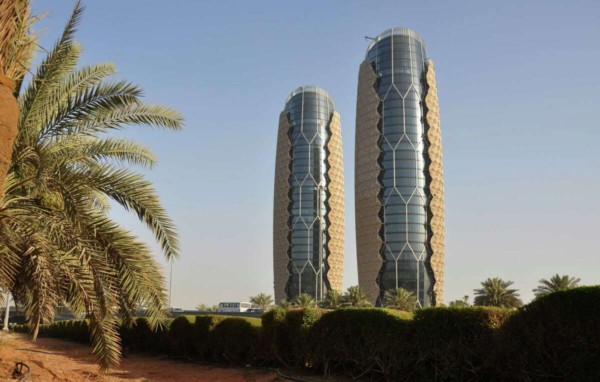 The second-placed project is Al Bahr Towers in Abu Dhabi, designed by Aedas Architects.