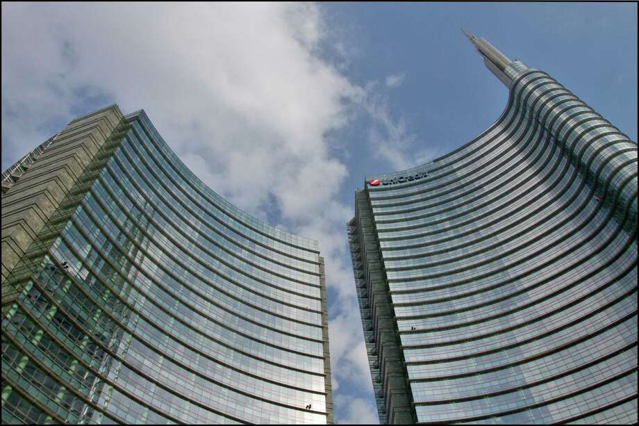 Eighth place: UniCredit Tower, in Milan, by Clarke Pelli Architects, Adamson Associates Architects and Tekne S.p.A. Photo: Giuseppe Labanca