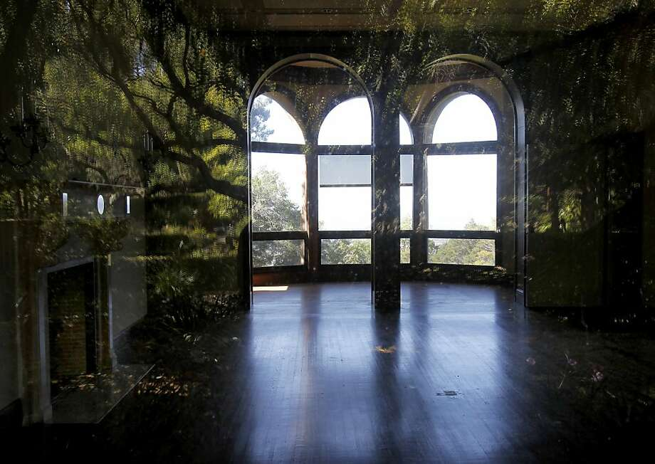 Blake House has views of the bay and the home's expansive Mediterranean gardens. Photo: Brant Ward, The Chronicle