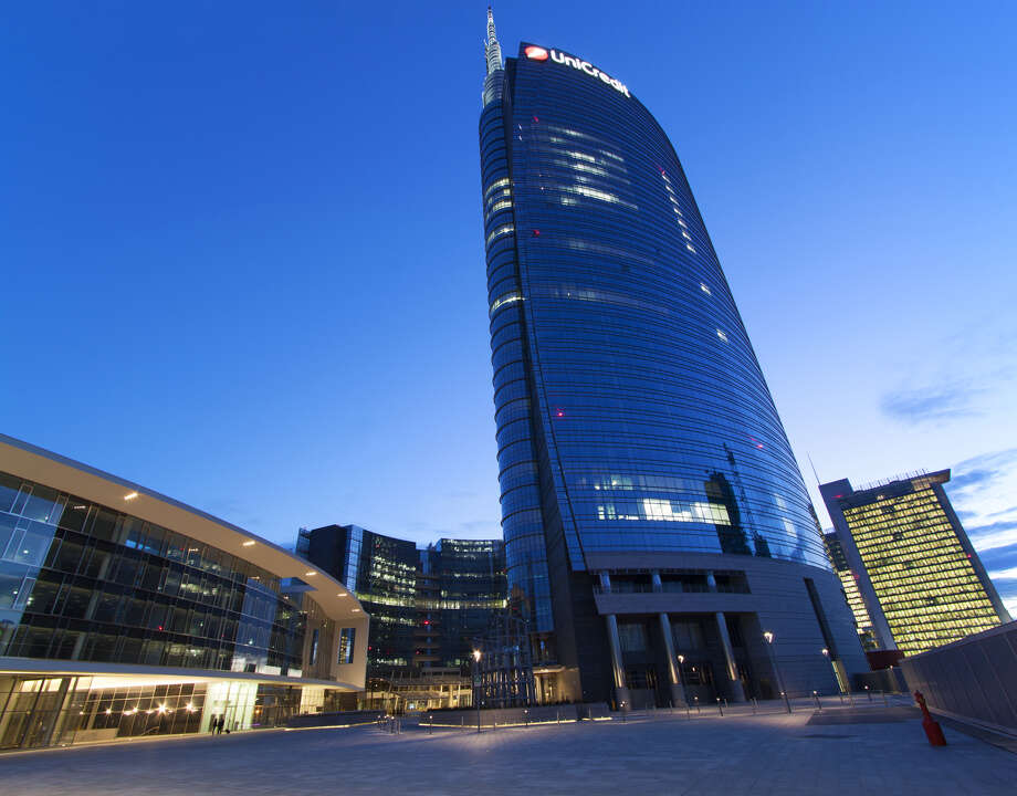 UniCredit Tower, the headquarters of UniCredit Bank, is Italy's tallest building, at 715 feet. Photo: Giovanni Zanghi