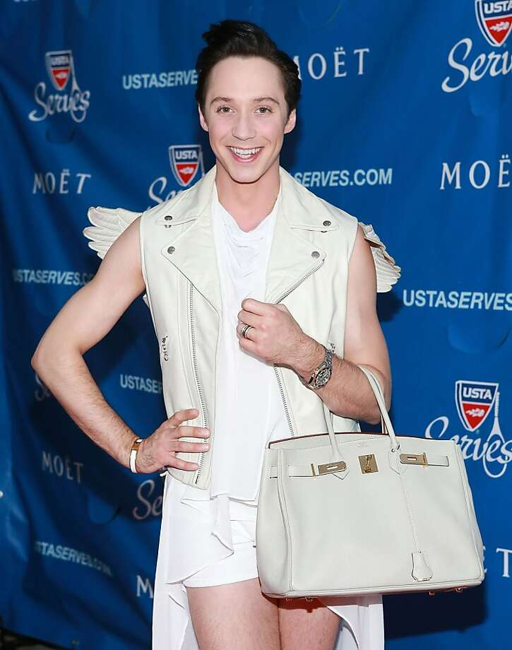 Johnny Weir Photo: Robin Marchant, Getty Images