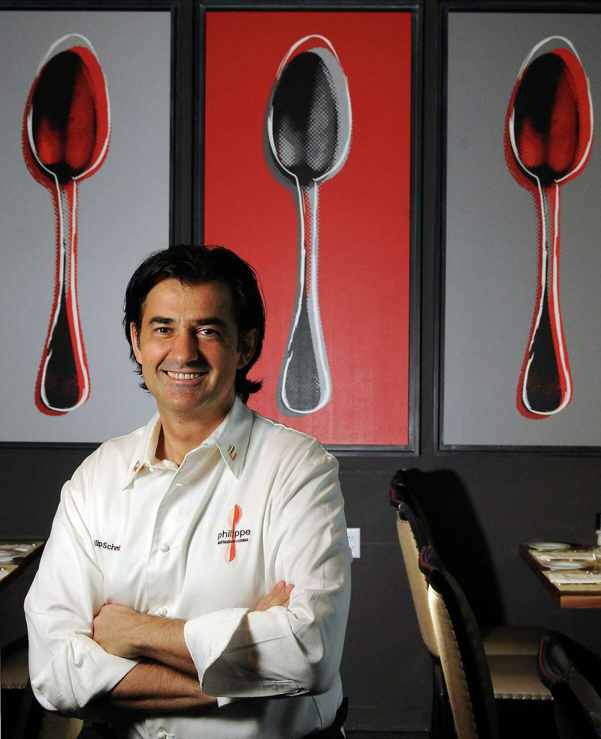Owner/chef Philippe Schmit is leaving Philippe Restaurant & Lounge to
