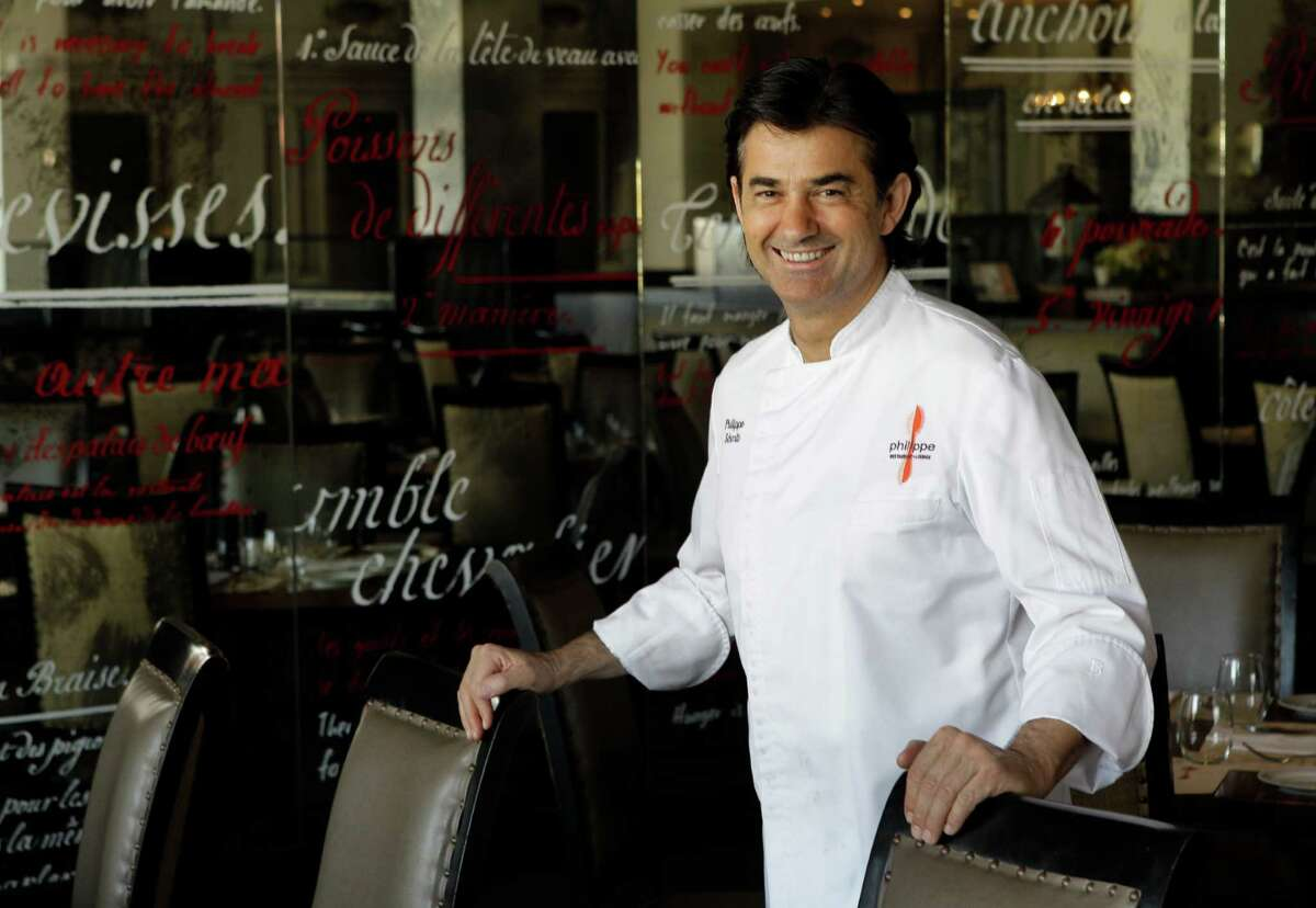 Chef Philippe Schmit poses in his restaurant Philippe, 1800 Post Oak, Thursday, March 7, 2013, in Houston. ( Melissa Phillip / Houston Chronicle )
