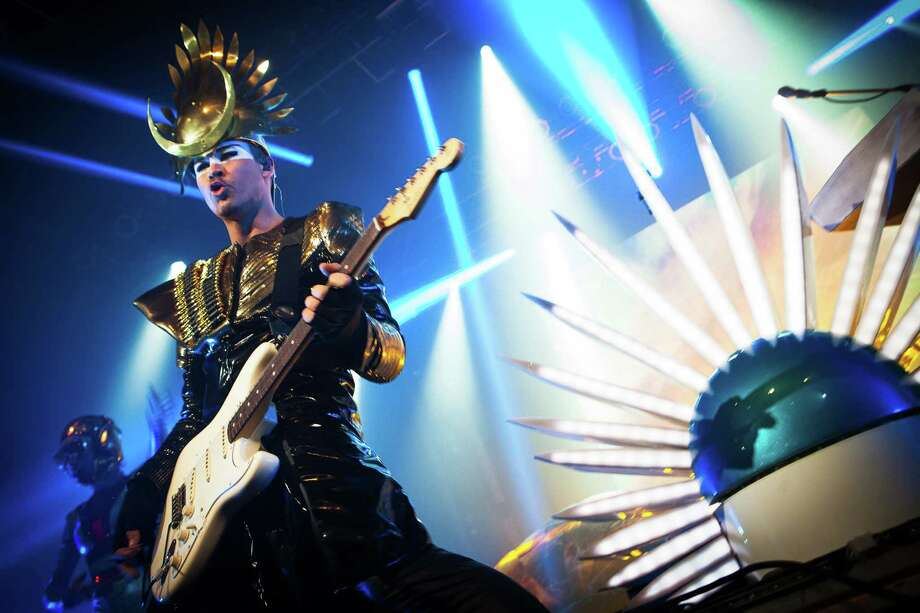 Empire of the Sun vocalist Luke Steele. Photo: Photo Credit: Karlo X. Ramos / ©Karlo X. Ramos