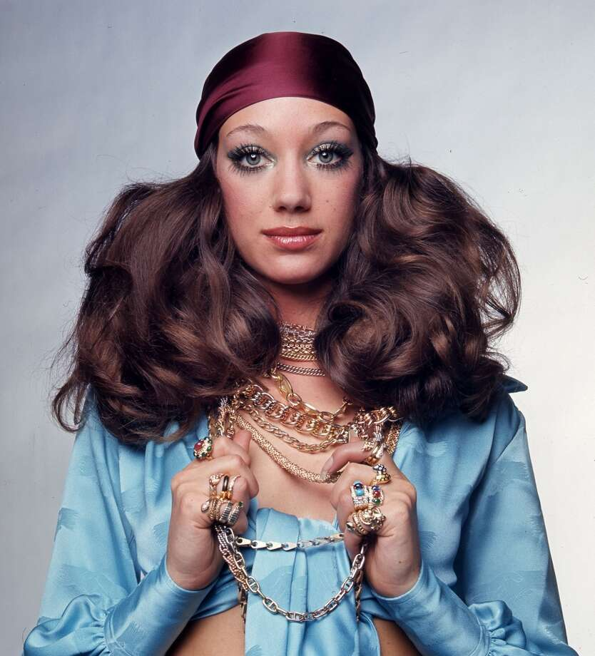 Actress Marisa Berenson wearing a Bulgari necklace and rings in Vogue U.S. in 1969. Photo: Courtesy Of The De Young And Bulgari