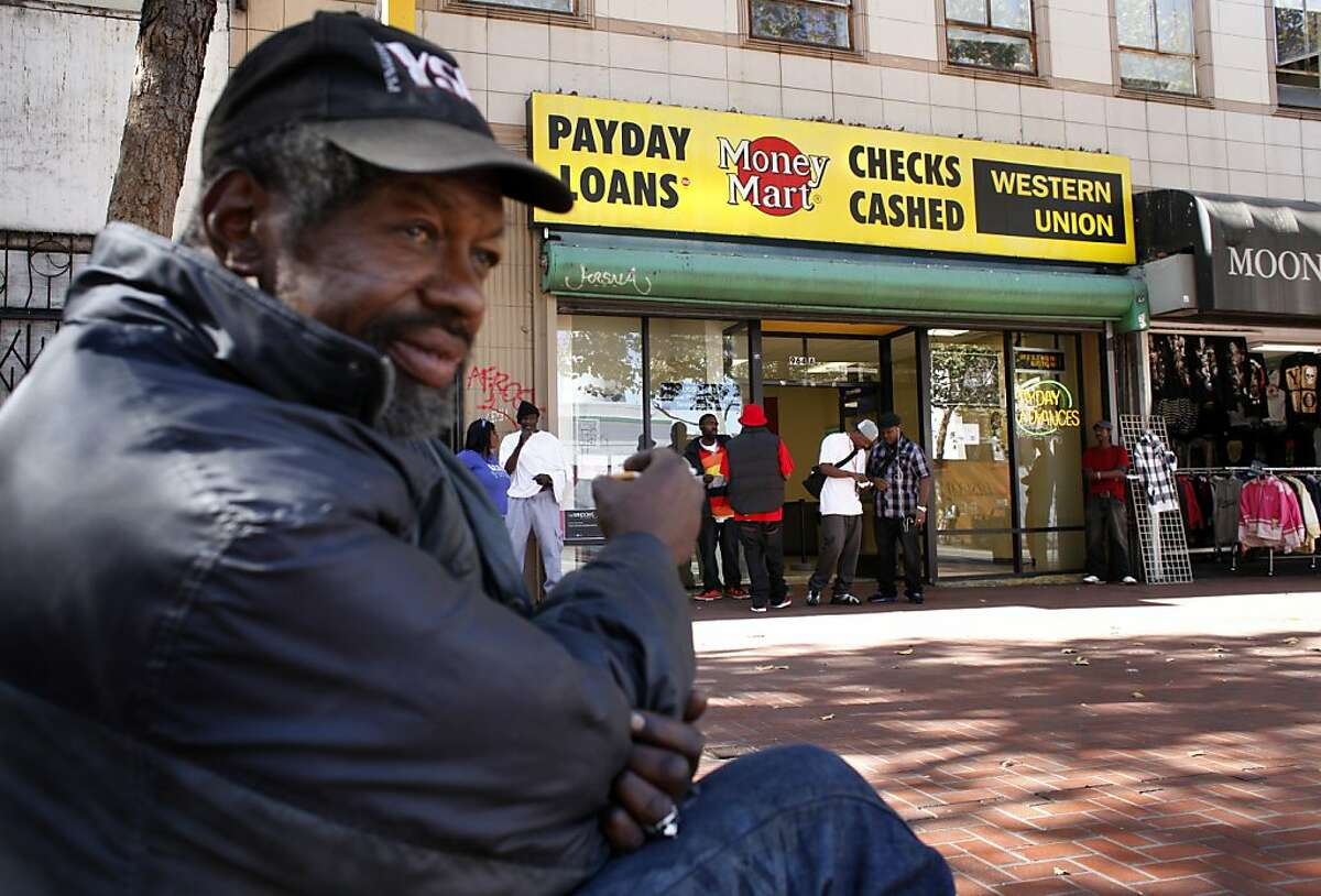 Marvin Boykins, 57, sits and waits for a chess partner between 5th and 6th and Market Street, Tuesday September 17, 2013, in San Francisco, Calif. Earlier in the week the police removed all the chess tables because of aledged drug activity.