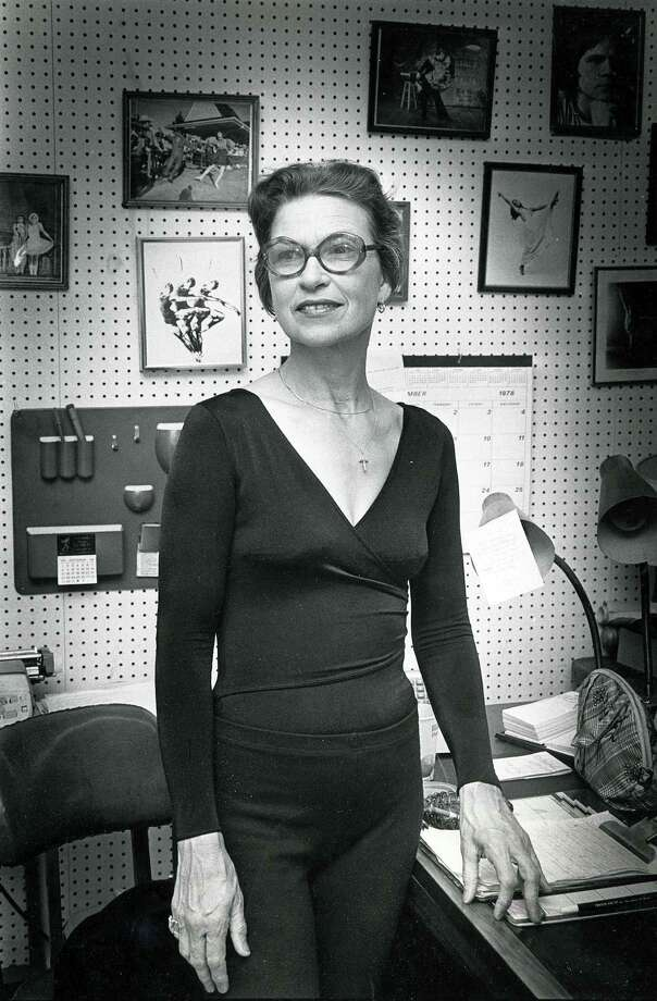 Patsy Swayze founded and directed the Houston JazzBallet Company and taught at the University of Houston for 18 years, according to reports. She also operated the Swayze School of Dance, located off Ella. Photo: Houston Chronicle Photo, Houston Chronicle