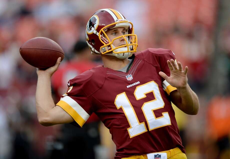 Kirk Cousins No. 102 overall pick Washington RedskinsThe Redskins made a surprise move when they drafted the former Spartan in the fourth round, but the team maintained he was simply too good to pass up at that stage in the draft. The Skins may have a point. The former Michigan State Spartan saw action in three games last season as RG3's backup, passing for 466 yards and four touchdowns and looking impressive enough that some fans are calling for him to start until Griffin gets back to looking like his old self.  Like Luck, Cousins is a field-general type with surprising athleticism, and it wouldn't be shocking to see a team desperate for  quarterback try to trade a high draft pick to pry him away from Washington. Whether Cousins turns out to be more like Matt Hasselbeck or Matt Flynn is anyone's guess. Photo: Patrick Smith, Getty Images