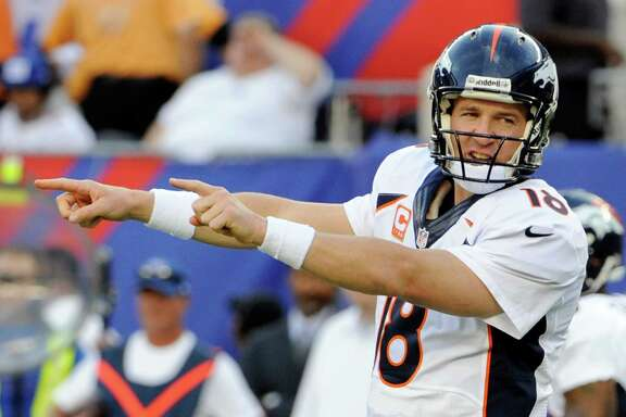 Broncos quarterback Peyton Manning is showing the way for pass-happy offenses around the NFL.
