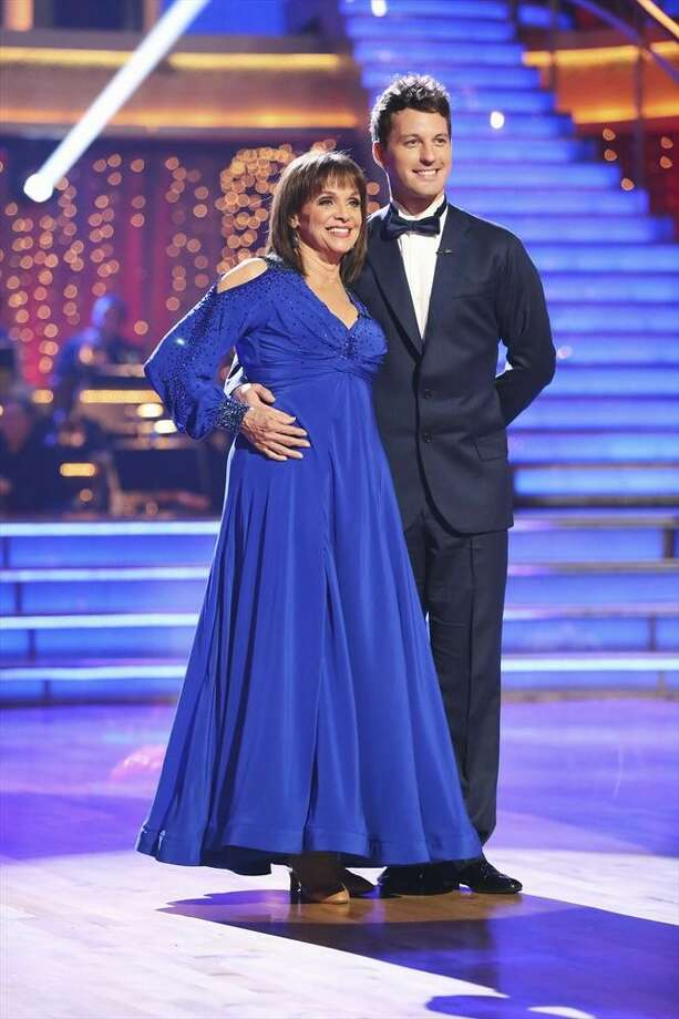 """Dancing with the Stars"": Valerie Harper and Tristan Macmanus. Photo: Adam Taylor, ABC / © 2013 American Broadcasting Companies, Inc. All rights reserved."