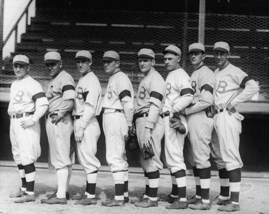 Boston Braves     1922: 53-100 1923: 54-100 1924: 53-100 Photo: Bruce Bennett Studios, Getty Images