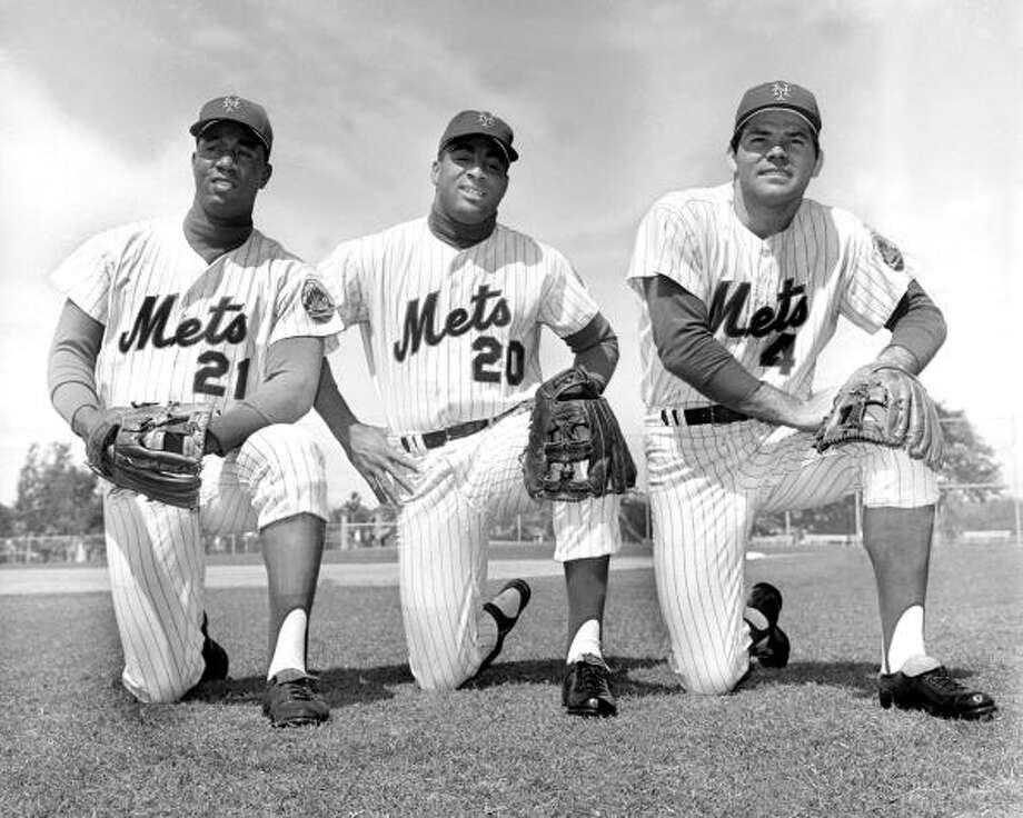 New York Mets  1962: 40-120 1963: 51-111 1964: 53-109 1965: 50-112 Photo: Frank Hurley, New York Daily News Archive Via Getty Images
