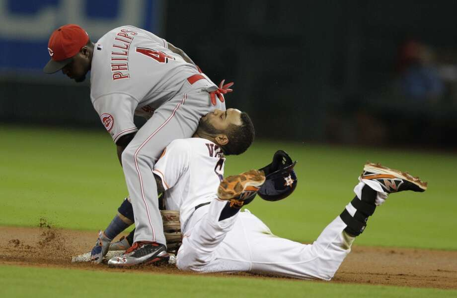 Sept. 17: Reds 10, Astros 0Houston hit the century mark in losses without putting up much of a fight.  Record: 51-100. Photo: Melissa Phillip, Houston Chronicle