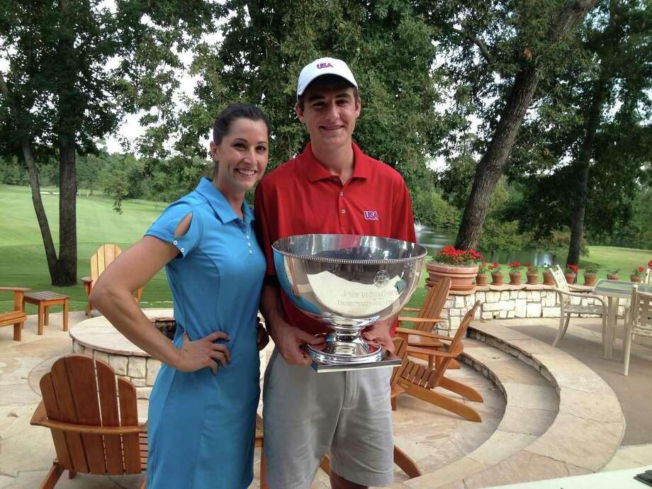 LPGA Tour pro Paige MacKenzie will serve as captain of a U.S. team that includes Scottie Scheffler, a senior at Highland Park in Dallas. Photo: Mike Bailey