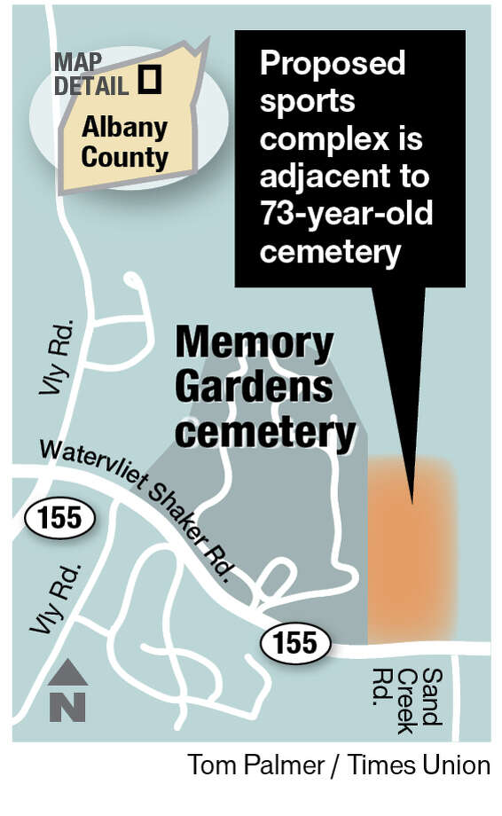 Memory Gardens in Colonie.