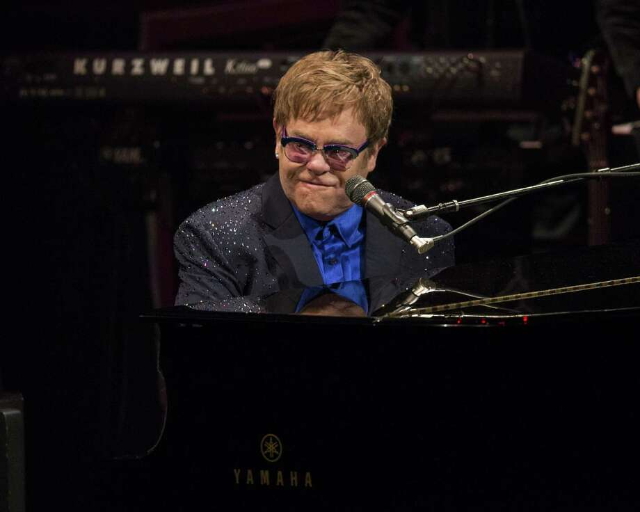 Elton John will perform at the Webster Bank Arena in Bridgeport on Friday, Nov. 8, 2013. Tickets go on sale Sept. 27. Photo: Christopher Polk, Getty Images / 2013 Getty Images
