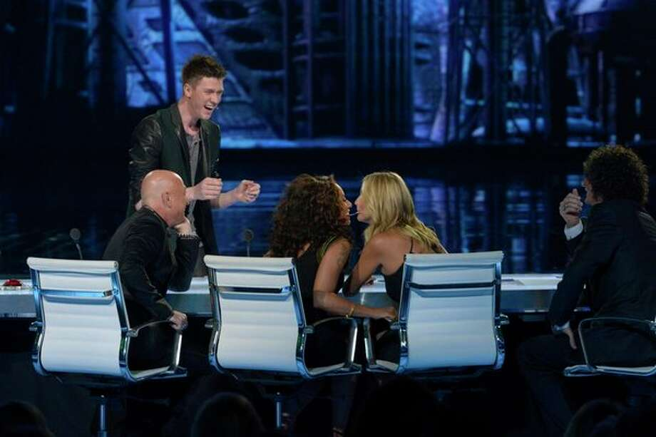AMERICA'S GOT TALENT -- Episode 826 -- Pictured: (l-r) Collins Key, Mel B, Heidi Klum -- (Photo by: Virginia Sherwood/NBC) Photo: NBC, Virginia Sherwood/NBC / 2013 NBCUniversal Media, LLC.