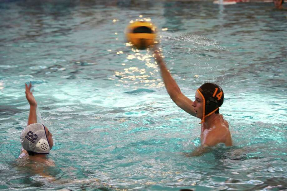 "Brunswick water polo co-captain Emmet McElwreath ""has a good shot and strong leadership skills,âÄù say Bruin coach Eric Tillman. Photo: Contributed Photo"