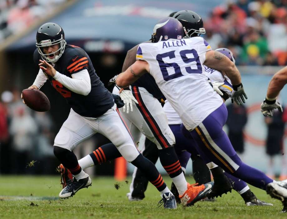 6. Bears (2-0) Last week: 7In Marc Trestman's first season as coach, the Bears are proving to be escape artists, thanks to Jay Cutler's Houdini impersonation. Photo: Anthony Souffle, MCT