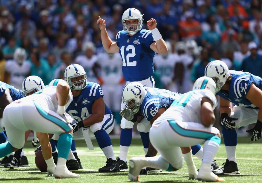 22. Colts (1-1) Last week: 13No need to panic. Since realignment in 2002, 58.8 percent of teams that started 1-1 or 0-2, including the Ravens last season, made the playoffs. Photo: Andy Lyons, Getty Images