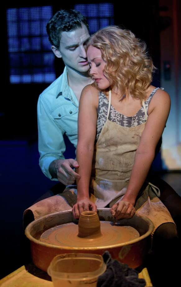 Steven Grant Douglas and Katie Postotnik, Ghost The Musical Tour. (Joan Marcus 2013) Photo: A©2013 Joan Marcus