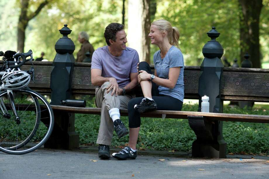 """This publicity image released by Roadside Attractions shows Mark Ruffalo, left, and Gwyneth Paltrow in a scene from """"Thanks For Sharing."""" (AP Photo/Roadside Attractions, Anne Joyce) ORG XMIT: NYET937 / Roadside Attractions"""