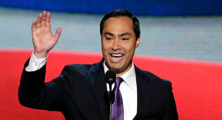 "Rep. Joaquin Castro, D-San Antonio, says Sen. Ted Cruz' 21-hour speech shows that, ""he can't be president."" Photo: J. Scott Applewhite"