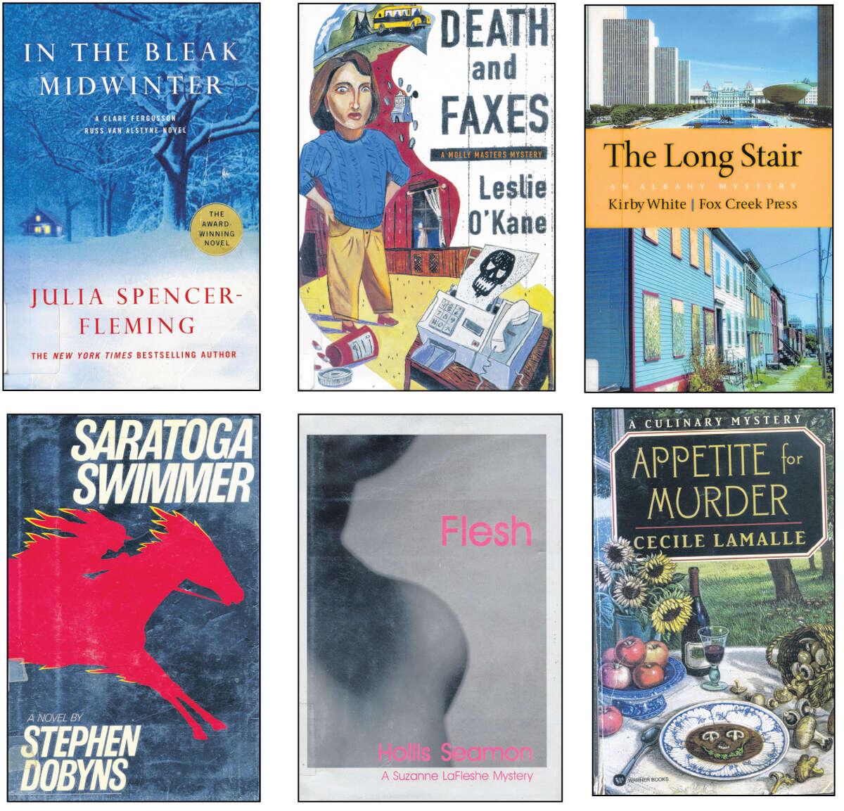 Murder mystery books.