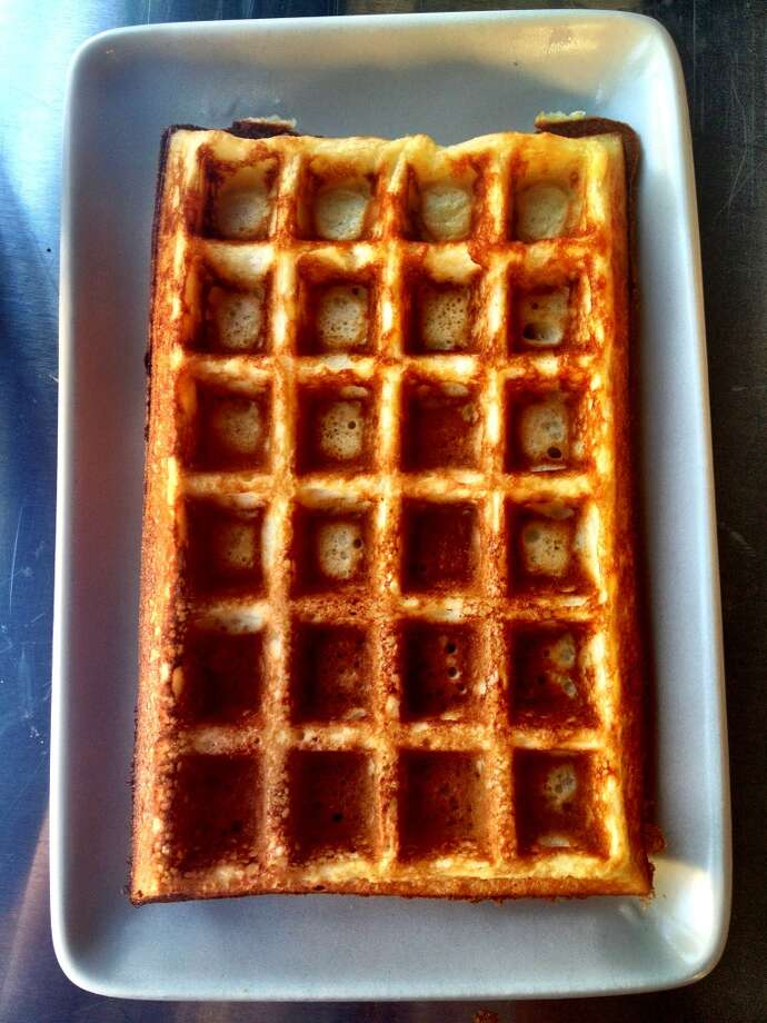 Brussels style waffle