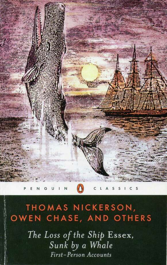 "The true story told in ìThomas Nickerson, Owen Chase, and Others - The Loss of the Ship Essex, Sunk by a Whale - First Person Accountsî is believed to be the inspiration for ""Moby Dick."" Photo: Contributed Photo"