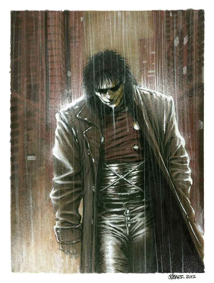 "Comic-book illustrator James O'Barr of ""The Crow,"" pictured, is scheduled to attend comiCulture: From Creation to Consumption. Photo: Courtesy Photo"