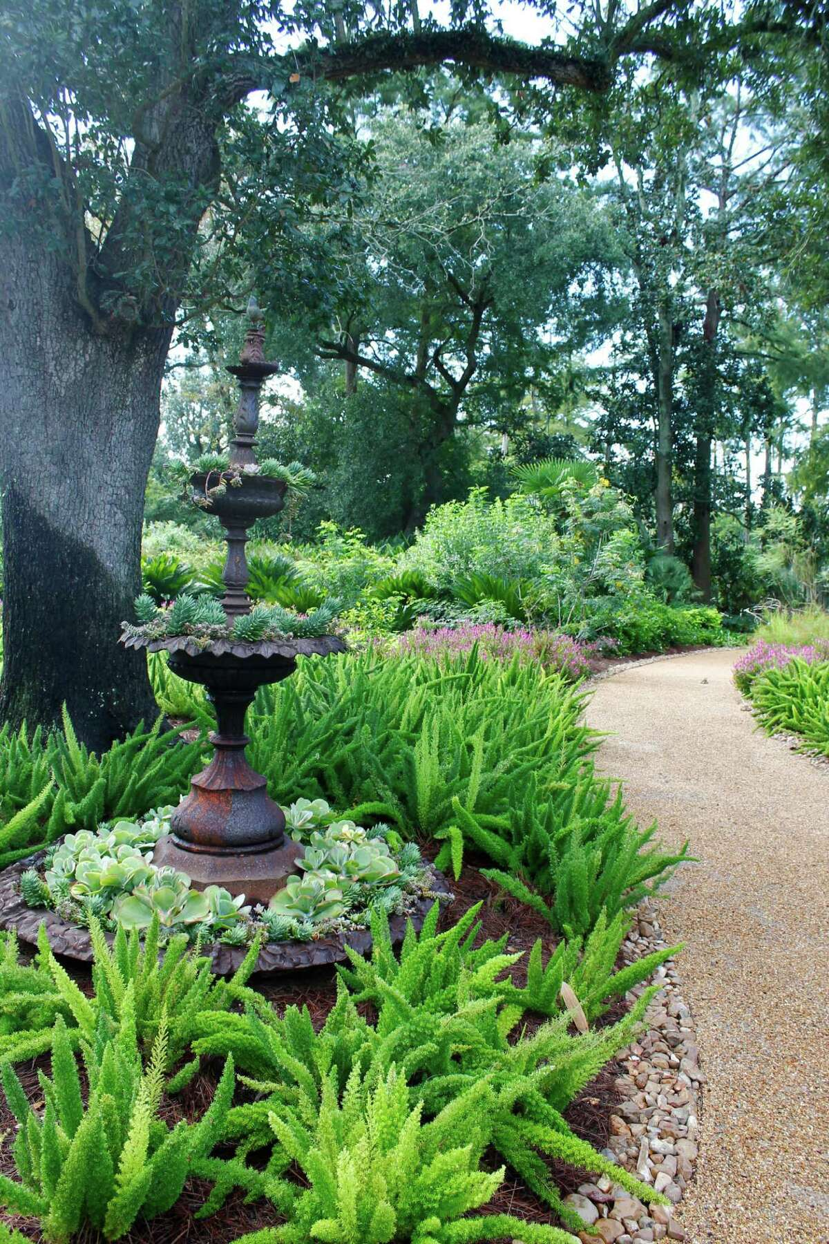 Shangri La Botanical Gardens in Orange, Texas, on Sept. 7, 2013.