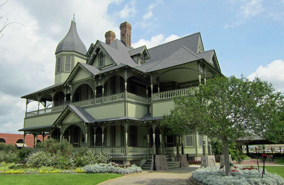 The W.H. Stark House, built in 1894, is on the National Register of Historic Places. Photo: Syd Kearney