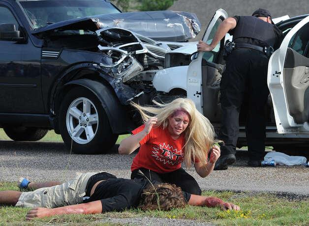 Shop drunk teens crash car