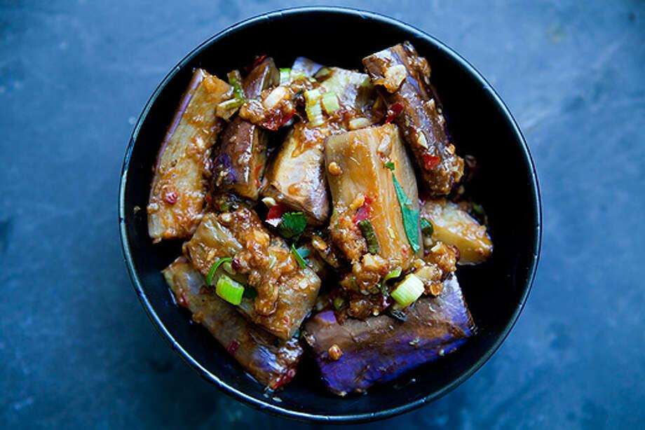 Sichuan eggplant/simplyrecipes.com